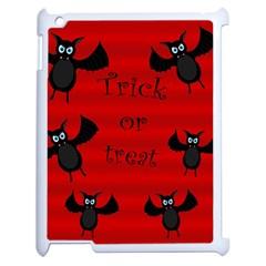 Halloween bats  Apple iPad 2 Case (White)