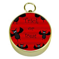 Halloween bats  Gold Compasses