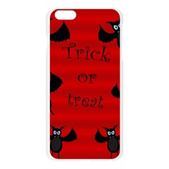 Halloween bats  Apple Seamless iPhone 6 Plus/6S Plus Case (Transparent)