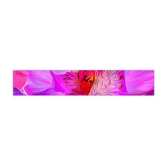 Abstract Poppy Flowers Flano Scarf (Mini)
