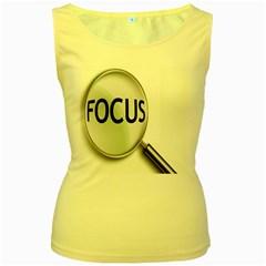 Focus Women s Yellow Tank Top
