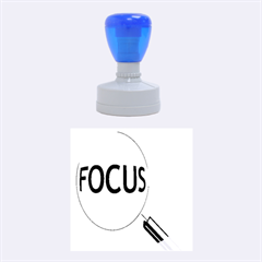 Focus Rubber Round Stamps (medium)
