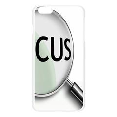 Focus Apple Seamless iPhone 6 Plus/6S Plus Case (Transparent)
