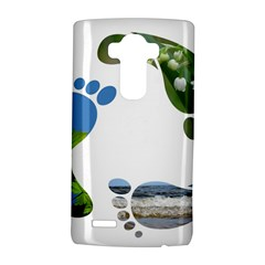 Footprint Recycle Sign Lg G4 Hardshell Case