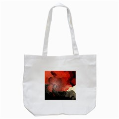 Abstract Spectrum Tote Bag (White)