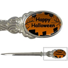 Happy Halloween - bats on the cemetery Letter Openers