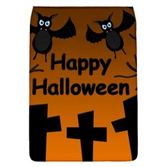 Happy Halloween - bats on the cemetery Flap Covers (S)