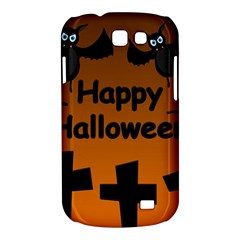 Happy Halloween - bats on the cemetery Samsung Galaxy Express I8730 Hardshell Case