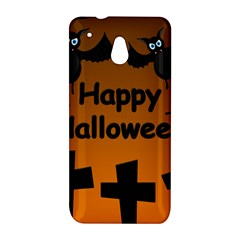 Happy Halloween - bats on the cemetery HTC One Mini (601e) M4 Hardshell Case