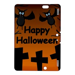 Happy Halloween - bats on the cemetery Kindle Fire HDX 8.9  Hardshell Case