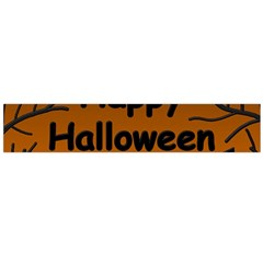 Happy Halloween - bats on the cemetery Flano Scarf (Large)