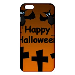 Happy Halloween - bats on the cemetery iPhone 6 Plus/6S Plus TPU Case