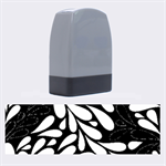 Free Green Nature Leaves Seamless Name Stamps 1.4 x0.5  Stamp
