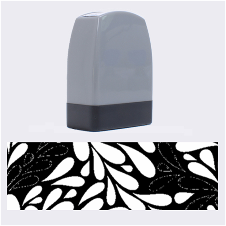 Free Green Nature Leaves Seamless Name Stamps