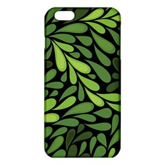 Free Green Nature Leaves Seamless Iphone 6 Plus/6s Plus Tpu Case
