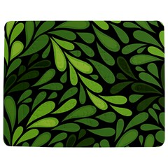 Free Green Nature Leaves Seamless Jigsaw Puzzle Photo Stand (Rectangular)
