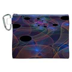 Abstraction Fractal Art Canvas Cosmetic Bag (XXL)