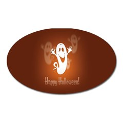 Funny Halloween Oval Magnet