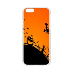Halloween Day Apple Seamless iPhone 6/6S Case (Transparent)