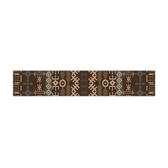 African Style Vector Pattern Flano Scarf (Mini)