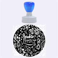 Hawaiian Paradise Fresh Rubber Round Stamps (large)