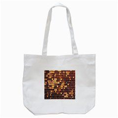 Honey Honeycomb Jpeg Tote Bag (white)