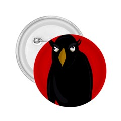 Halloween - old raven 2.25  Buttons