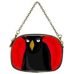 Halloween - old raven Chain Purses (One Side)
