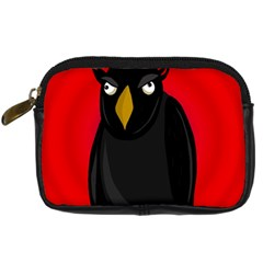 Halloween - old raven Digital Camera Cases