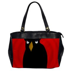 Halloween - old raven Office Handbags