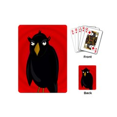 Halloween - old raven Playing Cards (Mini)