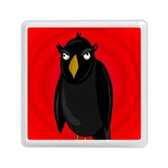Halloween - old raven Memory Card Reader (Square)