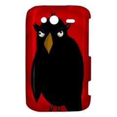 Halloween - old raven HTC Wildfire S A510e Hardshell Case