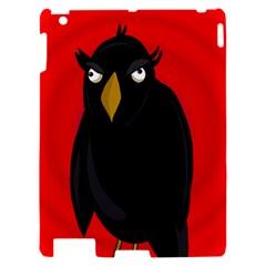 Halloween - old raven Apple iPad 2 Hardshell Case