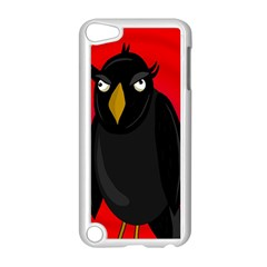 Halloween - old raven Apple iPod Touch 5 Case (White)