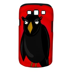 Halloween - old raven Samsung Galaxy S III Classic Hardshell Case (PC+Silicone)