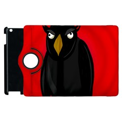 Halloween - old raven Apple iPad 2 Flip 360 Case