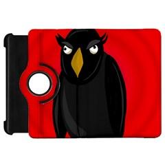 Halloween - old raven Kindle Fire HD Flip 360 Case