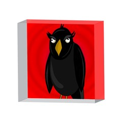 Halloween - old raven 4 x 4  Acrylic Photo Blocks