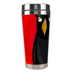Halloween - old raven Stainless Steel Travel Tumblers