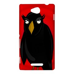 Halloween - old raven Sony Xperia C (S39H)
