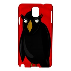 Halloween - old raven Samsung Galaxy Note 3 N9005 Hardshell Case