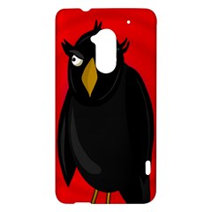 Halloween - old raven HTC One Max (T6) Hardshell Case