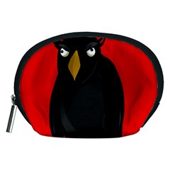 Halloween - old raven Accessory Pouches (Medium)