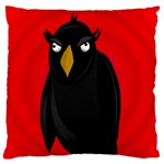 Halloween - old raven Standard Flano Cushion Case (One Side) Front