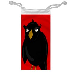 Halloween - old raven Jewelry Bags
