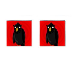 Halloween - old raven Cufflinks (Square)