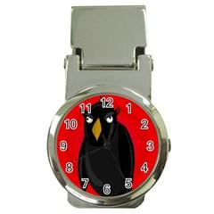 Halloween   Old Raven Money Clip Watches