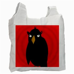 Halloween - old raven Recycle Bag (Two Side)