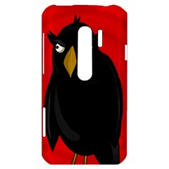 Halloween - old raven HTC Evo 3D Hardshell Case